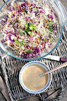 Salade de début de Printemps
