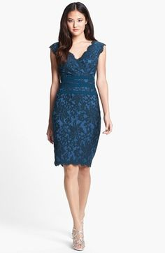 Lace & Tulle Sheath Dress - bridesmaid?