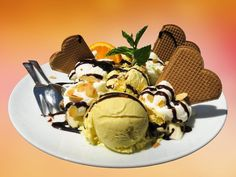 A lack of universal, unchanging ethics neither proves nor suggests that amoral hedonism is the best way to live. Ice Cream Desserts, Ice Cream Recipes, Orange Ice Cream, Why Vegan, Best Chef, Almond Cakes, Nutrition Tips, Vegan Chocolate, San Diego
