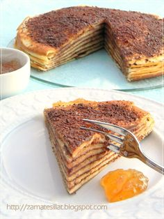 Csúsztatott palacsinta Hungarian Desserts, Hungarian Recipes, Crepes, Cake Recept, Good Food, Yummy Food, Cakes And More, Fudge, Breakfast Recipes