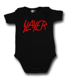 littlerockstore baby rock clothes littlerocker slayer band metal band rock band kids rock clothes baby metal clothes kids metal clothes