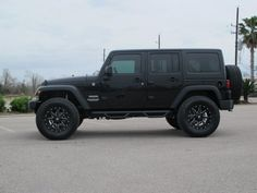 Watching to get jeep commander, or used jeeps for sale, Click visit link to see Blacked Out Jeep Wrangler, Black Jeep Wrangler Unlimited, Jeep Wrangler Wheels, Jeep Wranglers, Jeep Unlimited, Jeep Sport, Jeep Jeep, 2013 Jeep Wrangler Sport, Autos