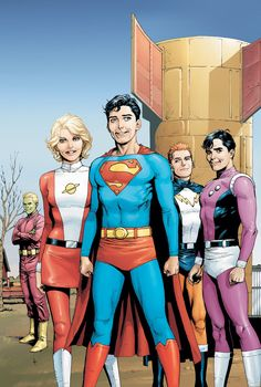 Legion of Super-Heroes by Gary Frank