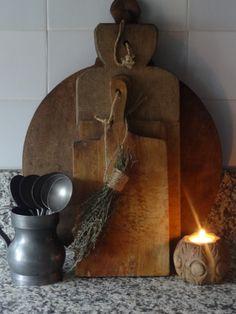 A House Romance - prim Primitive Kitchen, Wooden Kitchen, Rustic Kitchen, Primitive Country, Kitchen Ideas, Prim Decor, Country Decor, Primitive Decor, Country Style
