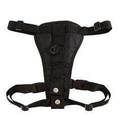 Petroad Dog Body Harness Padded, for Cars with Seat Belt Tether Comfortable with Adjustable Chest, Medium Size, 18- to 28-inch Chest, Black >>> You can find out more details at the link of the image.