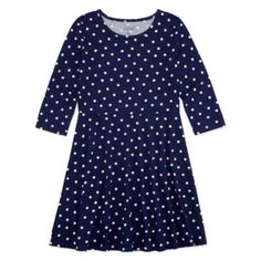 06d60ed045208 City Streets 3 4 Sleeve Bell Sleeve Skater Dress - Big Kid Girls - JCPenney