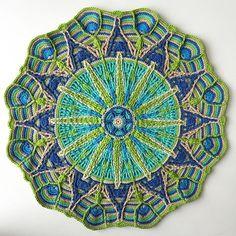 Mandalas Häkeln Und Entspannen красивые круги мандалы Häkeln