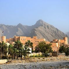 Nakhal Fort, Oman قلعة نخل، عمان  by countrypic​