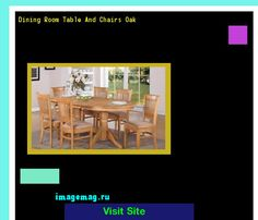 Dining Room Table And Chairs Oak 182324 - The Best Image Search