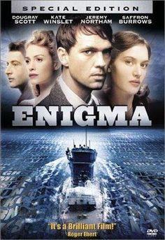Enigma (2001) Dougray Scott, Kate Winslet, Saffron Burrows