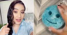 Watch Vanesa Amaro's Cleaning Hacks on TikTok | Videos | POPSUGAR Home Scrub Daddy, How To Fold Towels, Housekeeper, Clean Freak, Tidy Up, Natural Cleaning Products, Popsugar, Clean House, Cleaning Hacks