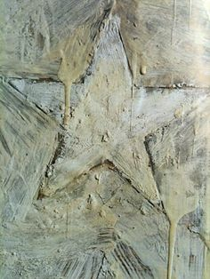 Detail from 'White Flag'- jasper johns