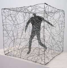 Art educators and graduate students from around the world are researching Elizabeth Berrien's truly innovative wire sculpture. Description from gennadean2013.blogspot.com. I searched for this on bing.com/images