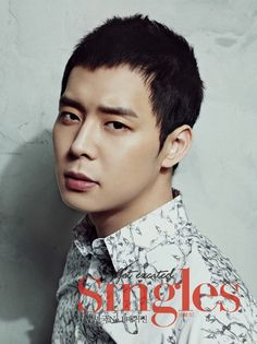 'Singles' fashion magazine reveals detective-thriller themed making-of film for photo shoot with JYJ's Yoochun