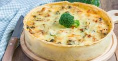 Recette de Quiche légère poulet, champignons et brocoli. Facile et rapide à réaliser, goûteuse et diététique. Ingrédients, préparation et recettes associées.
