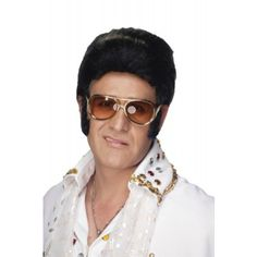 Elvis From Illusions Collection By Jon Renau - Costume Style - Wigs http://www.thewigpeople.com/