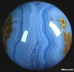 Blue Lace Agate Crystal Ball