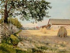 The Finnish Landscape, Albert Nikolajevitsch Benois, Finnish National Gallery Finland, Country Roads, Gallery, Painting, Landscapes, Art, Museum, Kunst, Paisajes