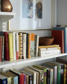 I love a good bookshelf (Cup of Jo Makeover | The Living/Dining Room)