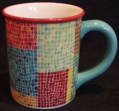 starbucks mug mosaic - Google Search
