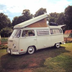 """VW bay at """" the pig place"""" Banbury. Great place for us to stop overnight - beautiful by the canal"""