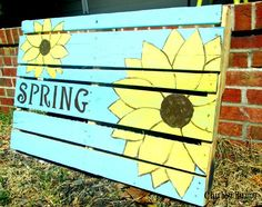 Easy decoration for your yard or porch. This project takes very little time and the best part is that you can repaint it for another holiday or season. I love h…