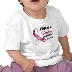Head and Neck Cancer Ribbon Someone Special Tshirt