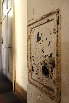 old school hallway , Rissei elementary school , Kyoto