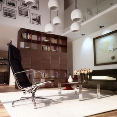 Interior scene rendered by Blender, Cycles