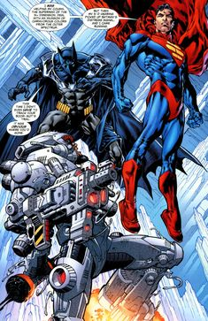 Superman and Batman One Million