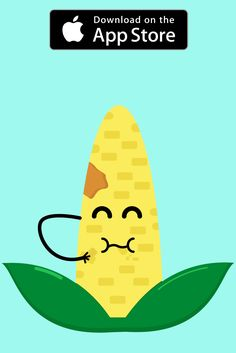 This Corn is waiting for you on iOS. If you are passionate about gardening and cute little iMessage Stickers, then go ahead and download on your Iphone!