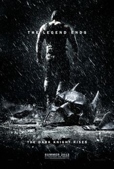 The Dark Knight Rises movie poster.    Yeah, it's gonna be great.
