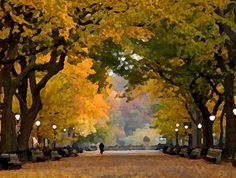 The Literary Walk in Central Park