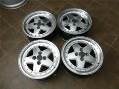 Zender Sport wheels (one piece) 15x7 et20, 4x100, 57,1cb