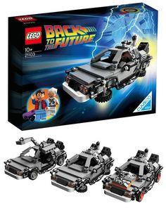DeLorean - Lego