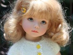 """Dianna Effner 13"""" Little Darling I just adore these dolls!!!!!"""