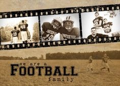 Football Family Cover from Creative Memories...  LOVE this.  thank you CM for making it affordable to do custom covers!