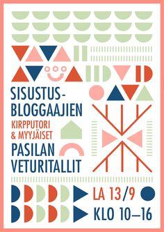 Sisustusbloggaajien kirpputori & myyjäiset.