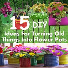 budget outdoor gardening alternatives to planters - Google Search
