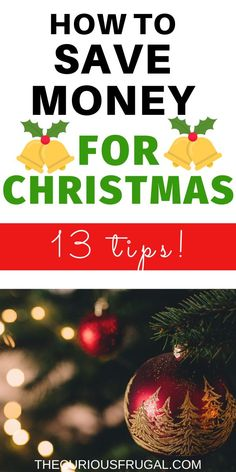 Do you want to know how to save money for Christmas?  It can be an expensive time of year but doesn't have to be.  It is very possible to do Christmas on a budget. Grab a cup of something warm and read these tips from saving savvy moms about how to do Christmas cheap. | save money | frugal Christmas