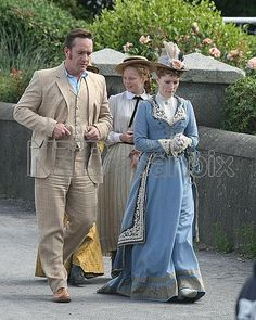 EXCLUSIVE: Ripper Street filming in Ireland.