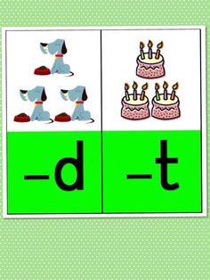 Weet je de laatste letter niet? Maak het woord langer dan hoor je wat je ziet.