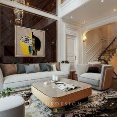 3d Architecture, Architecture Visualization, 3d Living Room, Classic House Design, Architectural Elements, 3d Design, Interior, Modern, Furniture