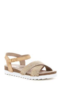 Eve Embossed Sandal
