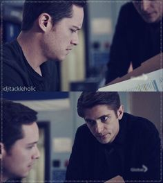 Mouse: Hey, I found something. Halstead: Okay. Why are we whispering? Mouse: Just look at it. (3x23)