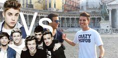 One Direction Vs Justin Bieber - Armando Iozzi