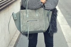 Celine Bag & Fur.