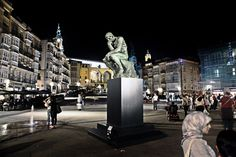 The Thinker by Rodin in Vitoria-Gasteiz (Araba), via Flickr