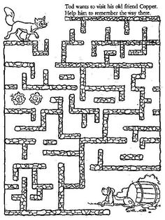 free printable mazes for kids.easy, medium and hard - sema aydın- Mazes For Kids Printable, Free Printables, Kids Mazes, Preschool Activities, Activities For Kids, Maze Worksheet, Maze Puzzles, Maila, Kindergarten Worksheets