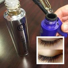 Revive your dried out mascara by adding just a couple of drops of Rejuvinique Oil from Monat. It also helps the lashes grow longer!